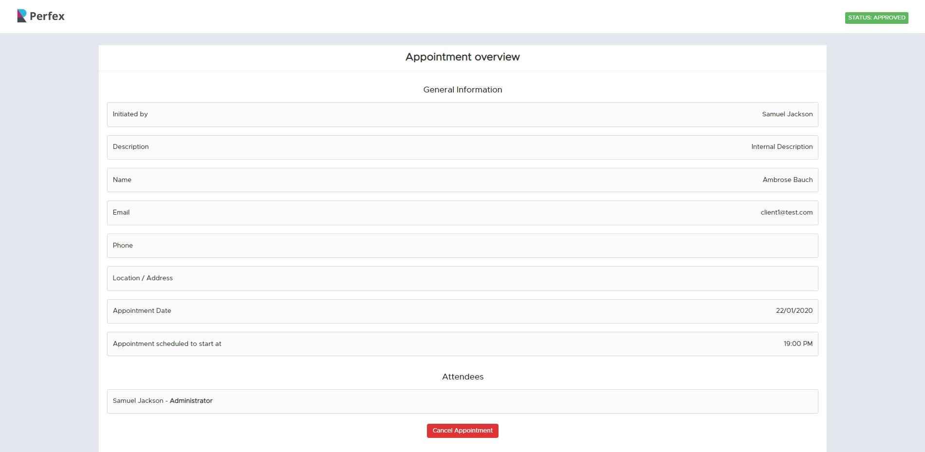 Appointly - Perfex CRM Appointments - 29