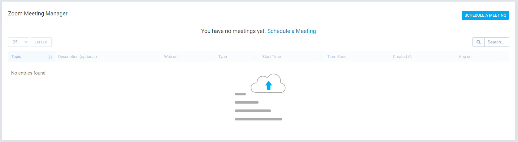 Zoom Meeting Manager - 2