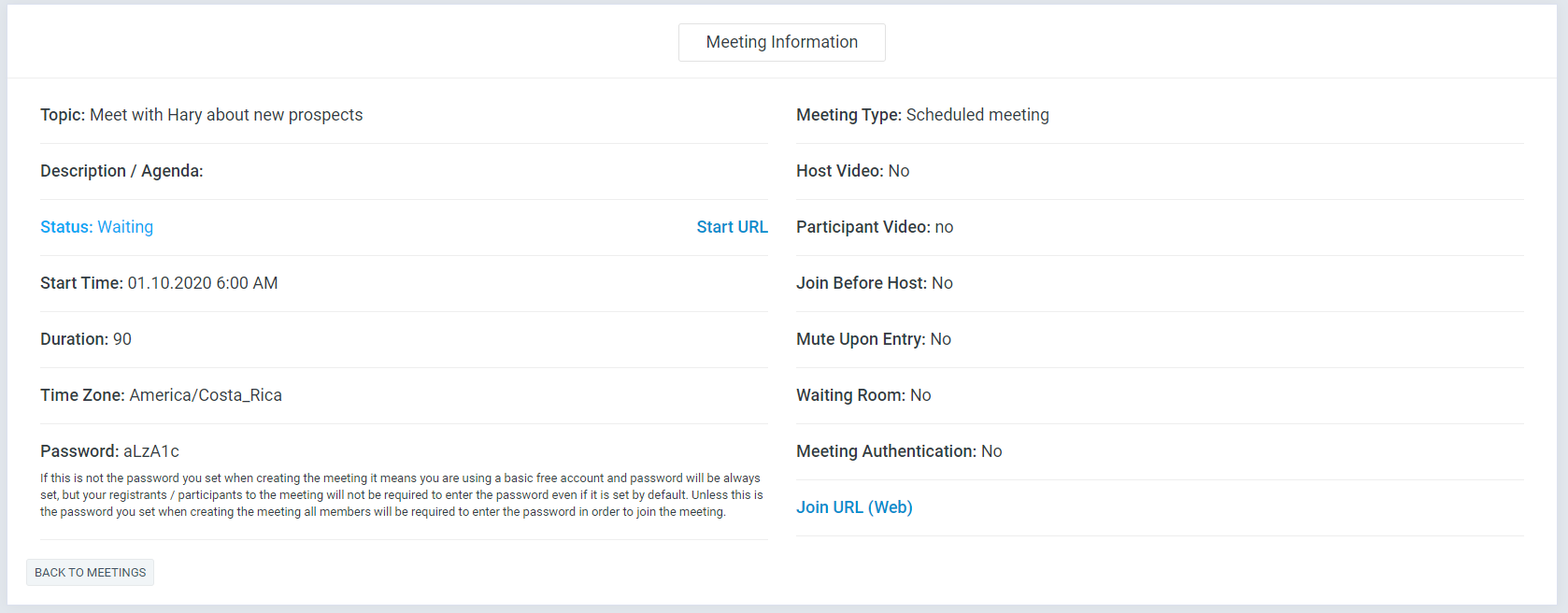 Zoom Meeting Manager - 5