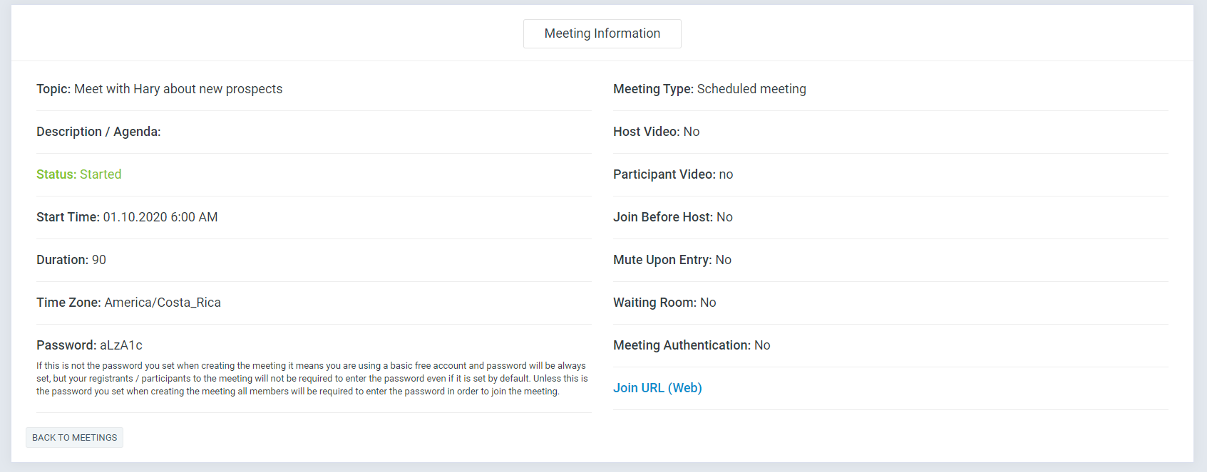 Zoom Meeting Manager - 6